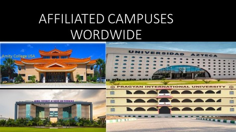 AFFILIATED CAMPUSES WORDWIDE